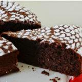 Bezlepková čokoládová torta s mandľami