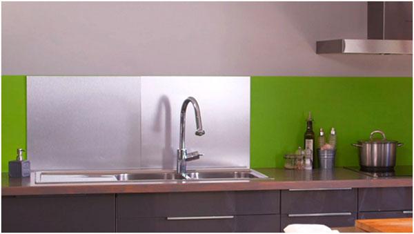 Obloženie umývacieho centra v kuchyni