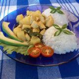 Aromatické kuracie prsia s ananásom a hrozienkami