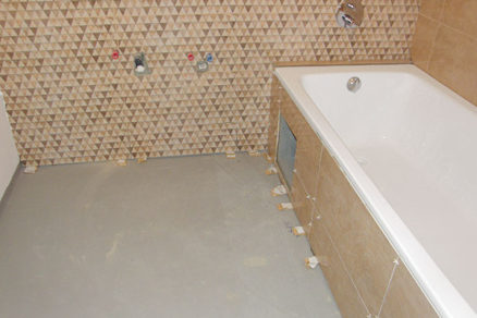 Kúpeľňa svojpomocne - 5. Obklad a dlažba