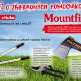 Súťaž o záhradných pomocníkov od Mountfieldu - vyžrebovanie výhercov