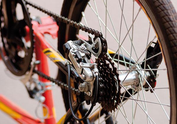 Ako nastaviť prehadzovač na bicykli