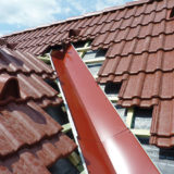 Rekonštrukcia strechy - Montáž úžľabia