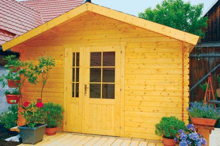 Staviame záhradný domček - 2. časť: Steny a strecha
