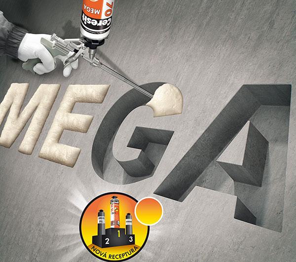 U novej PU peny Ceresit TS 70 MEGA s novou receptúrou oceníte extrémne vysokú výťažnosť