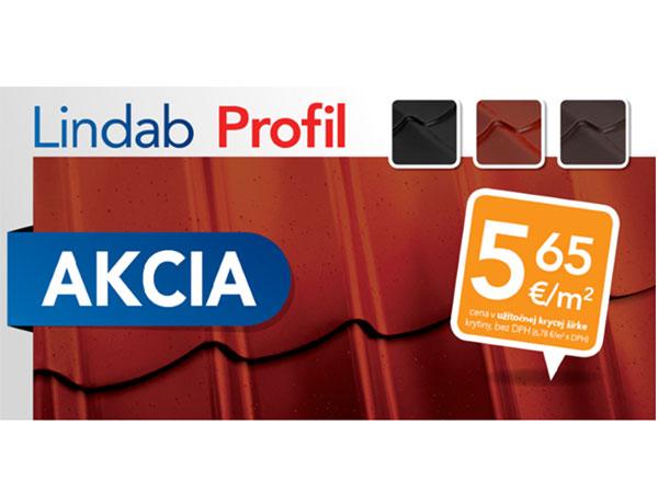 Kvalitná strešná krytina Lindab Profil za AKCIOVU cenu!