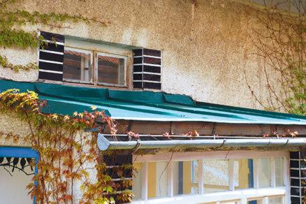 Lacná obnova verandovej striešky