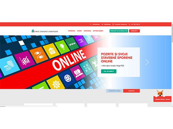 Nová webová stránka PSS, a. s. - moderná, prehľadná, komplexná