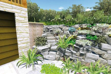 Ako spevniť a stabilizovať svah v záhrade, aby sa zemina nedostávala na príjazdovú cestu