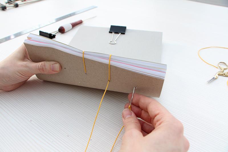 Ako si vytvoriť zápisník s jednoduchou väzbou
