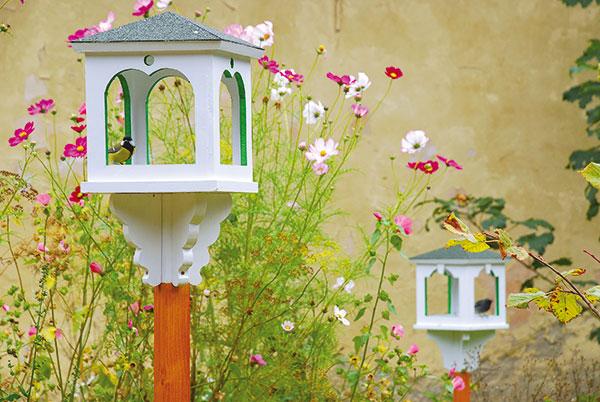 Ozdobné vtáčie kŕmidlo lacno a pekne