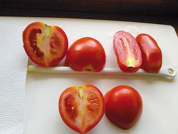 Prečo majú rajčiaky zelenú dužinu?