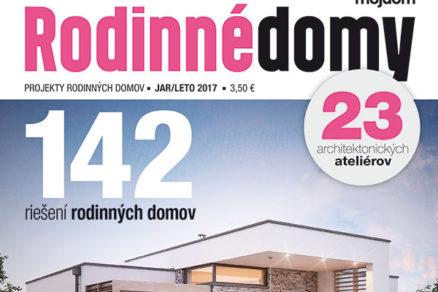 Rodinné domy jar/leto 2017 v predaji od 22.3.2017