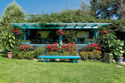 Záhradná pergola s celkovou cenou materiálu od 300 až 700 €