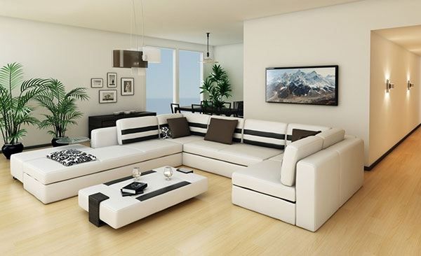Elektrické sálavé panely môžete dať na stenu aj na strop