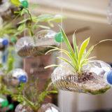 Ako využiť v záhradke či na balkóne plastové fľaše