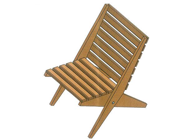 Ako si vyrobiť skladaciu stoličku