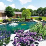 Aj takto môže vyzerať záhradné jazierko za 3000 €