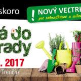 Atraktívna novinka pre záhradkárov – veľtrh HURÁ DO ZÁHRADY!!!