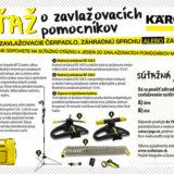 Výsledky súťaže o zavlažovacích pomocníkov Kärcher