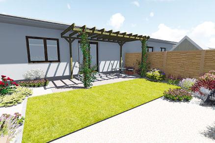 Zastrešte si terasu: Záhradná pergola pri dome do 600 €