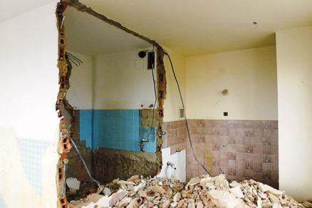 Rekonštrukcia bytu s množstvom demolačných prác dopadla na výbornú