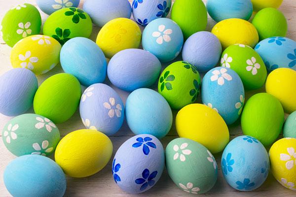 4 jednoduché tipy na výzdobu veľkonočných vajíčok