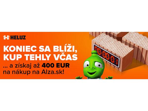 JARNÁ AKCIA HELUZ - K tehlám HELUZ navyše poukaz na nákup v Alza.sk