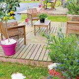 Všetko o záhradných terasách z prírodného dreva