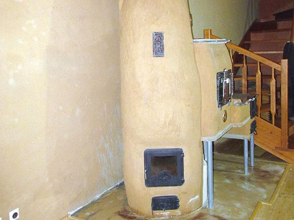 Liata podlaha vhodná k peci a kozubu