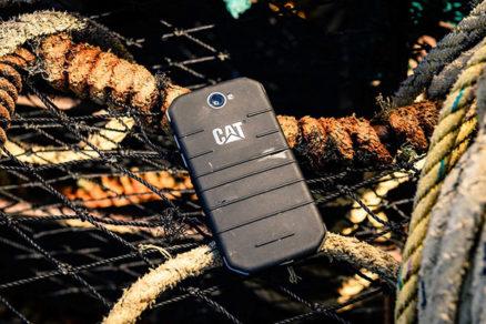 Odolný CAT S31 – stvorený na to, aby prežil