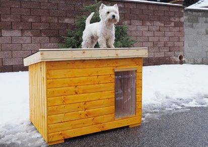 Zateplená búda pre psa aj do nepriaznivého počasia