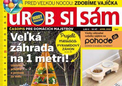 Aprílové vydanie Urob si sám je v stánkoch! Parenisko s automatickou závlahou!