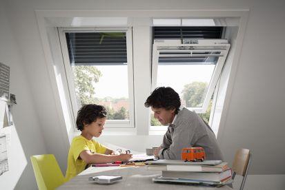 Strešné okná patria do zdravej domácnosti