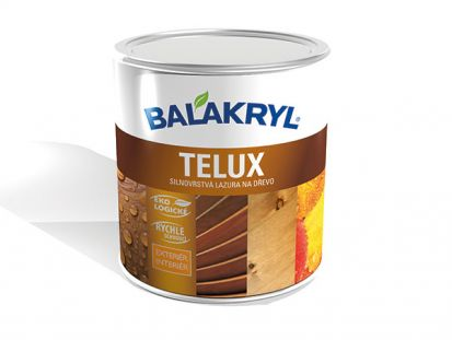 Lazúra TELUX od Balakrylu splní všetky farebné priania