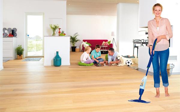 jednoduche upratovanie vsetkych typov podlah bez vody bez vedra