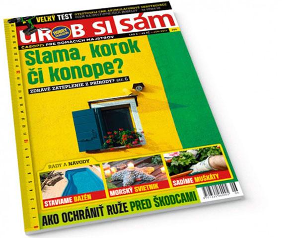 Júnové vydanie časopisu Urob si sám v predaji