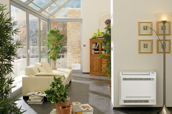 Klimatizácia obytných priestorov
