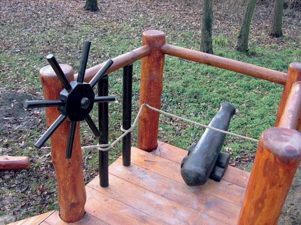 konstrukcia dreveneho ihriska