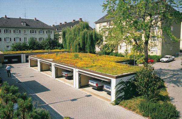konstrukcie vegetacnych striech