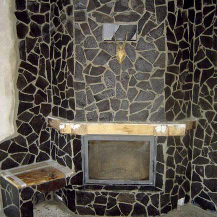 kozub s akumulacnou stenou