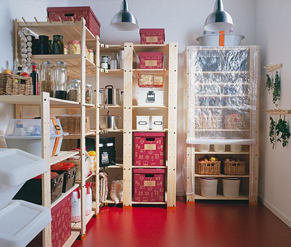 kvalitny priestor na uskladnenie potravin
