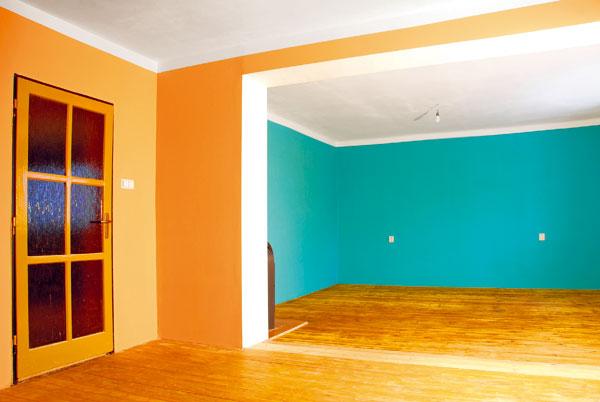 Maľujeme izbu krok za krokom