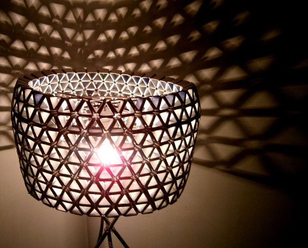 Moja vysnívaná lampa z tetrapakových obalov