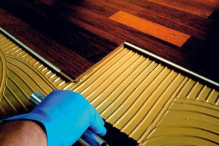 montaz laminatovych podlah