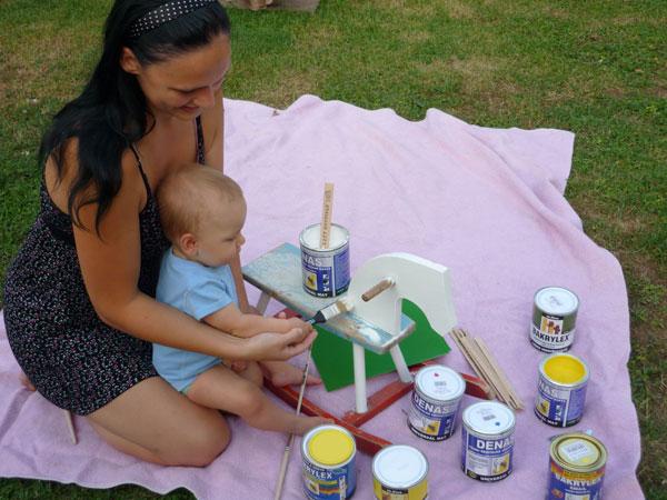 Nátery na hračky a detský nábytok
