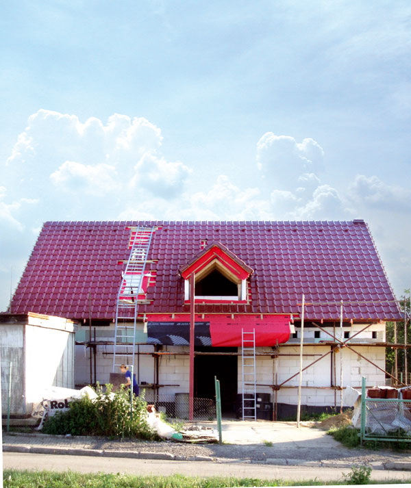 navrh a realizacia sikmej strechy topdek