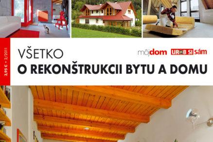 Nová kniha v predaji Všetko o rekonštrukcii bytu a domu
