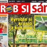 Nové číslo hobby magazínu Urob si sám 06/2012 už v predaji