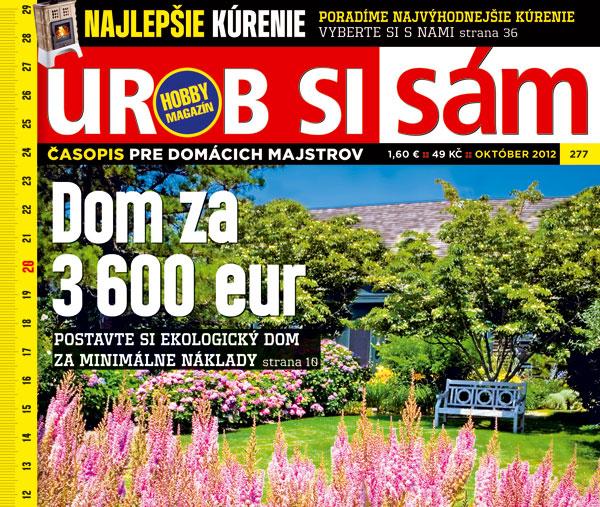 nove cislo hobby magazinu urob si sam oktober 2012 v predaji